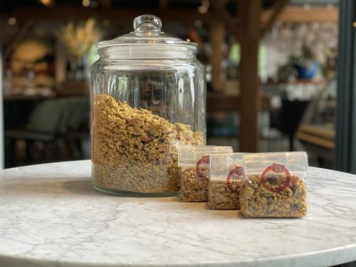 Granola | Maasland | Online shoppen | Boerderij | Traiteur | Vlees van eigen weide | Home made for you |