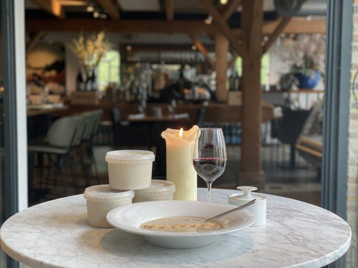 Knolselderij truffelsoep | Maasland | Online shoppen | Boerderij | Traiteur | Vlees van eigen weide | Home made for you |